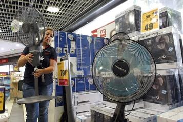 Ventilateur et eau fraîche pour remplacer le climatiseur)