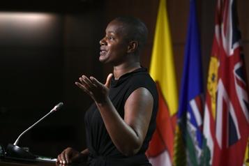 Crise au Parti vert «Racisme», «sexisme»: Annamie Paul s'en prend au conseil de son parti)