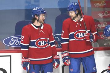 Camp d'entraînement du Canadien Josh Anderson «fier» de son ami JonathanDrouin)