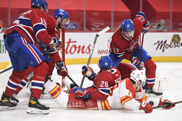 Notre couverture en direct Flames 1 - Canadien 2)