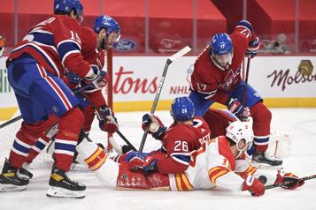 3e période Flames 1 - Canadien 1)