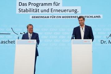 Allemagne Les conservateurs dessinent l'après-Merkel)
