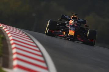 Grand Prix de Turquie Max Verstappen domine la première journée d'essais)