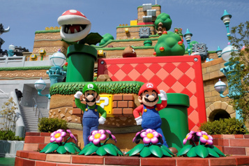 Le premier parc à thème Nintendo a ouvert au Japon)