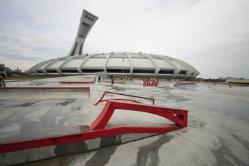 Un parcours street s'ajoute au planchodrome du Parc olympique)