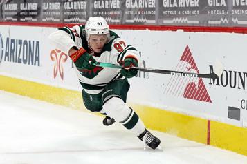 Wild du Minnesota Kirill Kaprizov a réussi son entrée en matière)