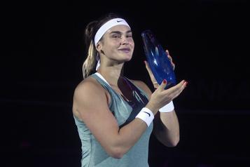 Aryna Sabalenka s'impose à l'Omnium d'Ostrava)