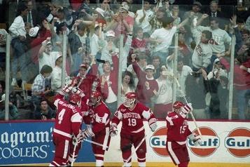 Hockey: il y a 30ans, le pari risqué delaNCAA )