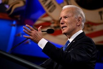 Joe Biden favori à l'extérieur des États-Unis)