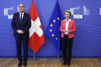 La relation entre l'UE et la Suisse dans l'impasse)