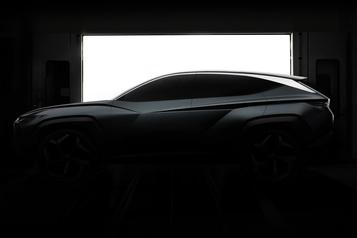 La calandre de cet hybride Hyundai a des ouvertures à géométrie variable