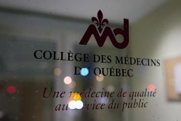 Renseignements de santé personnels Mise en garde du Collège des médecins sur le projet de loi 64)