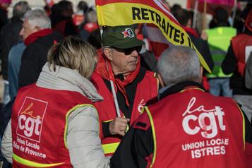 France: 10ejour de grève contre une réforme des retraites