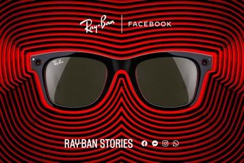 Facebook et Ray-Ban lancent des lunettes de soleil connectées)