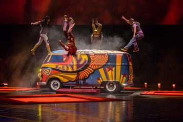 Les six spectacles du Cirque du Soleil à Vegas suspendus