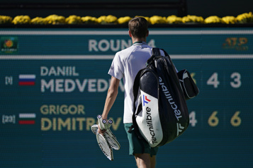 Indian Wells Medvedev éliminé, le tournoi perd son grand favori