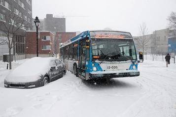 Tempêtes de neige : la gratuité des transports en commun écartée