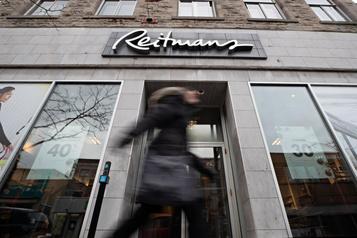 Le titre de Reitmans à son plus bas en37ans