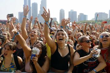 Au festival de Lollapalooza, le retour de la musique, sur fond de COVID-19)