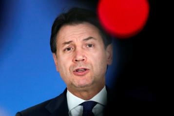 Italie Le premier ministre Giuseppe Conte démissionnera mardi)