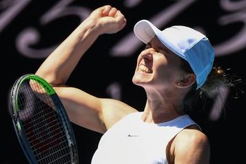 Australie: Simona Halep rejoint les demi-finales