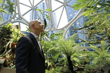 Jeff Bezos lance un fonds pour la Terre de 10milliards de dollars