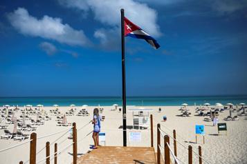 À Cuba, la plage de Varadero est prête pour les touristes