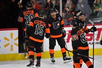 Les Flyers ont raison des Rangers 5-2