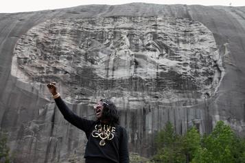 Stone Mountain, le pendant sudiste du mont Rushmore)