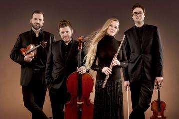Nadia Labrie, Antoine Bareil, Isaac Chalk et Benoit Loiselle On ne badine pas avec Mozart! ★★★★)