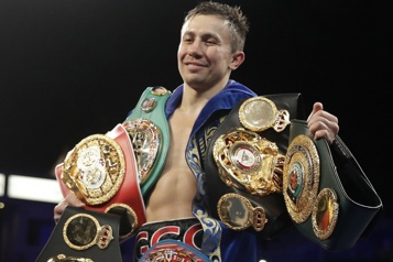 Boxe Golovkin conserve son titre IBF des poids moyens )