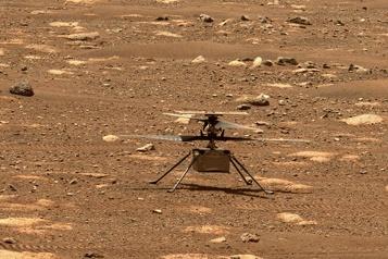 Exploration de Mars L'hélicoptère Ingenuity pourrait voler lundi)