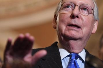 L'éventuel procès de Trump sera la priorité du Sénat, assure son chef républicain