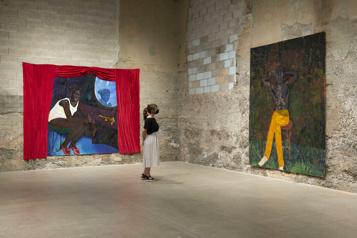 L'exposition Still ready to curse and rage à Montréal)