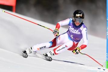 Coupe du monde de ski alpin Lara Gut-Behrami remporte le super-G de St.Anton)