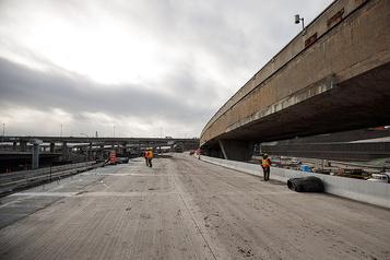 Trois voies de la nouvelleA720 Ouest ouvertes à la circulation