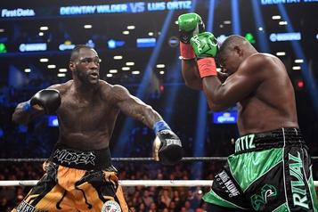 Boxe: la revanche Wilder-Ortiz aura lieu le 23novembre à Las Vegas