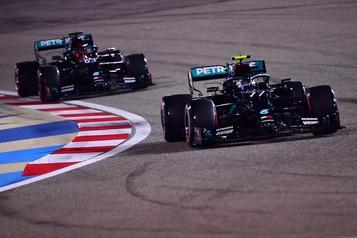 Grand Prix de Sakhir Bottas en tête de justesse en l'absence d'Hamilton)