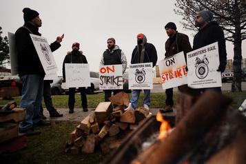 Grève au CN: les réserves de propane s'épuisent au Québec