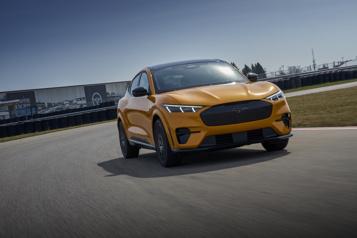Mustang Mach-E GT Performance L'autonomie estimée revue à la hausse)