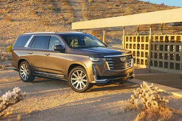 Le Cadillac Escalade joue la carte de la technologie