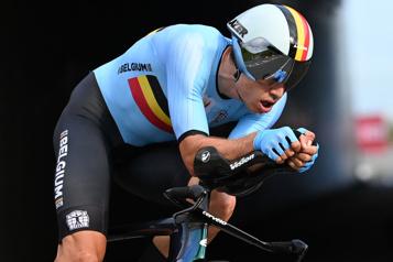 Tour de Grande-Bretagne Wout Van Aert signe une troisième victoire)
