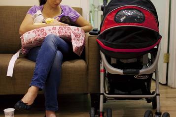 Le lait des femmes actives protégerait le bébé)