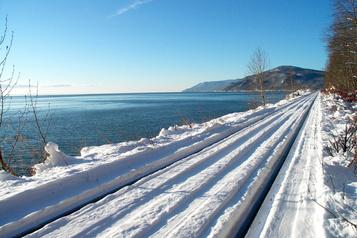 Un train de Noël dansCharlevoix