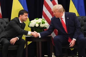 Le président ukrainien «fatigué» du scandale avec Trump