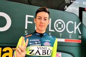 Tour d'Italie Contrôle antidopage anormal pour l'Italien Matteo Spreafico)