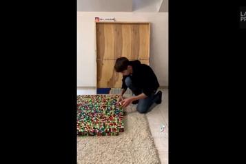 Instant TikTok Le maître du cube Rubik)
