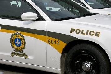 Un homme arrêté après une poursuite policière dans les Laurentides