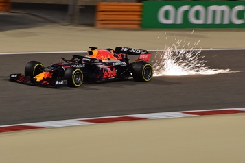 Grand Prix de Bahreïn MaxVerstappen en position de tête pour la première épreuve de lasaison )