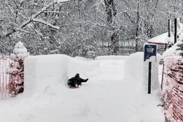 Les activités hivernales lancées au Parc de la Rivière-des-Mille-Îles)